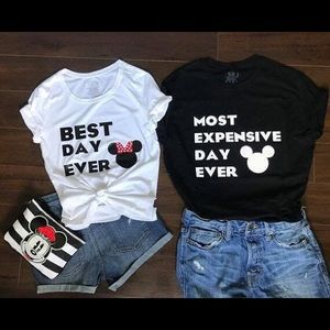 Disney Couple Shirt Set